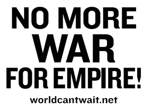 No More War for Empire