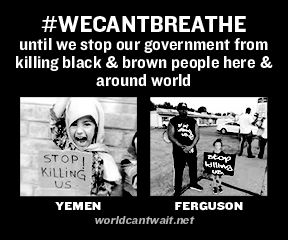 We can't breathe sticker